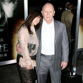 "Stella Arroyave, Anthony Hopkins in Los Angeles Premiere of Warner Bros' ""The Rite"""