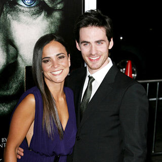 "Alice Braga, Colin O'Donoghue in Los Angeles Premiere of Warner Bros' ""The Rite"""