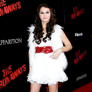 Scout Taylor-Compton in Los Angeles Premiere of 'The Runaways'