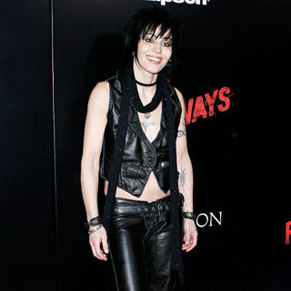 Joan Jett in Los Angeles Premiere of 'The Runaways'