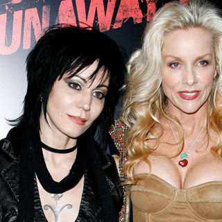 Joan Jett, Cherie Currie in Los Angeles Premiere of 'The Runaways'