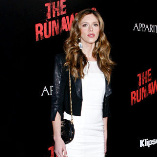 Kayla Ewell in Los Angeles Premiere of 'The Runaways'