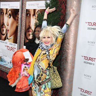 Betsey Johnson in Columbia Pictures Presents The World Premiere of The Tourist