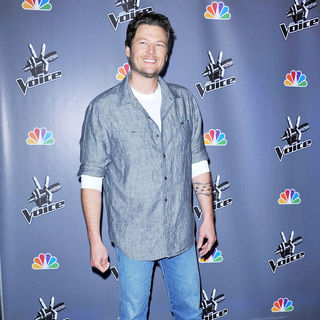 Blake Shelton in NBC Press Junket for 'The Voice'