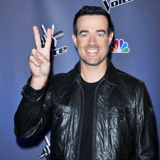 Carson Daly in NBC Press Junket for 'The Voice'