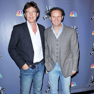 John de Mol, Mark Burnett in NBC Press Junket for 'The Voice'
