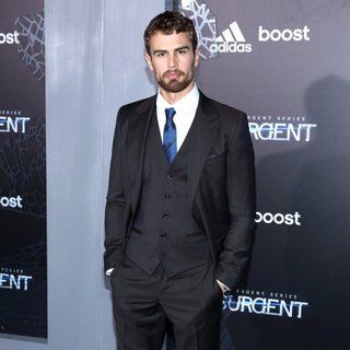 Theo James in US Premiere of The Divergent Series: Insurgent - Red Carpet Arrivals