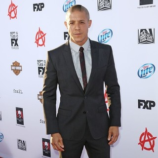 Theo Rossi in Premiere of FX's Sons of Anarchy Season Six - Arrivals