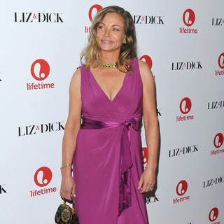 Theresa Russell in The Premiere of Liz and Dick