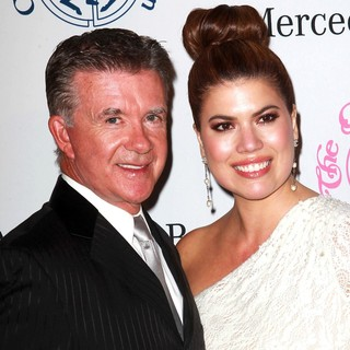 Alan Thicke, Tanya Callau in 26th Anniversary Carousel of Hope Ball - Presented by Mercedes-Benz - Arrivals