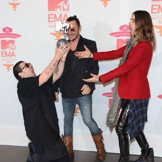 30 Seconds to Mars in 20th MTV Europe Music Awards - Press Room