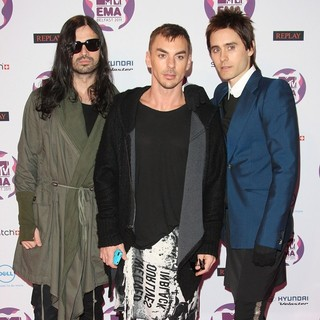 30 Seconds to Mars in The MTV Europe Music Awards 2011 (EMAs) - Arrivals