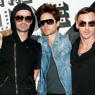 30 Seconds To Mars in The Screening of The Music Video for 30 Seconds To Mars' Song Hurricane