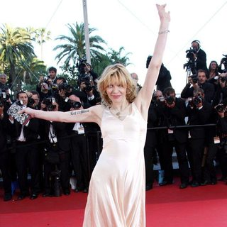 Courtney Love in 2011 Cannes International Film Festival - Day 10 - This Must Be the Place - Premiere