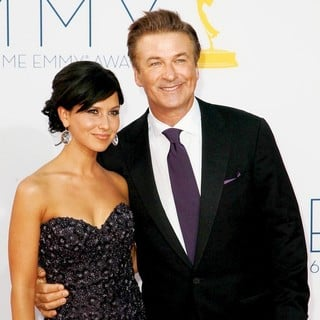 Hilaria Thomas, Alec Baldwin in 64th Annual Primetime Emmy Awards - Arrivals