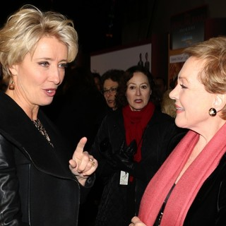 Emma Thompson, Julie Andrews in Saving Mr. Banks Los Angeles Premiere