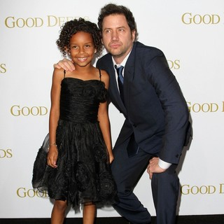 Jordenn Thompson, Jamie Kennedy in Lionsgate's Good Deeds Premiere