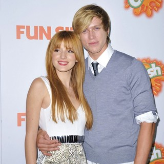 Bella Thorne, Tristan Klier in The Premiere of Paramount Pictures' Fun Size - Arrivals