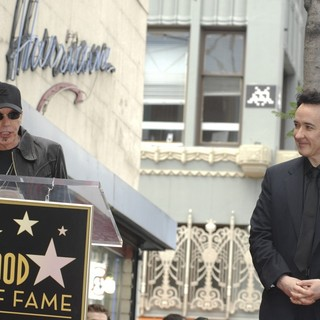 Billy Bob Thornton, John Cusack in John Cusack Honored with A Star on The Hollywood Walk of Fame