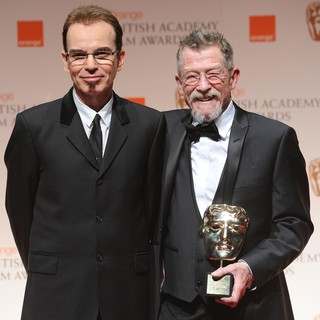Billy Bob Thornton, John Hurt in Orange British Academy Film Awards 2012 - Press Room