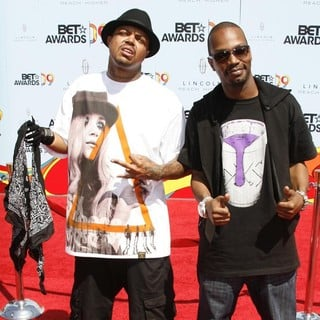Juicy J in 2009 BET Awards - Arrivals - three-6-mafia-2009-bet-awards-02