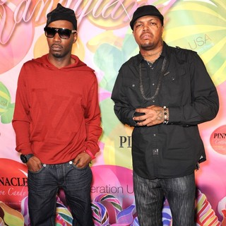 Juicy J, DJ Paul, Three 6 Mafia in The 6th Annual Kandyland Party