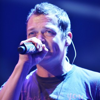 Brad Arnold, 3 Doors Down in 3 Doors Down Perform Live on Stage