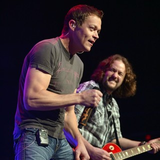 Brad Arnold, Chet Roberts, 3 Doors Down in 3 Doors Down Perform Live on Stage