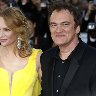 Uma Thurman, Quentin Tarantino in The 67th Annual Cannes Film Festival - Clouds of Sils Maria - Premiere Arrivals