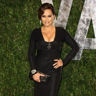 Tia Carrere in 2012 Vanity Fair Oscar Party - Arrivals
