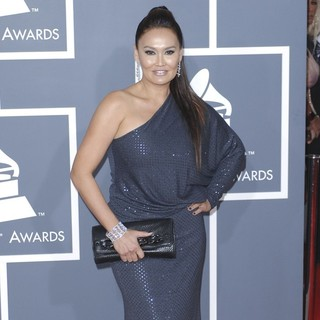 Tia Carrere in 54th Annual GRAMMY Awards - Arrivals