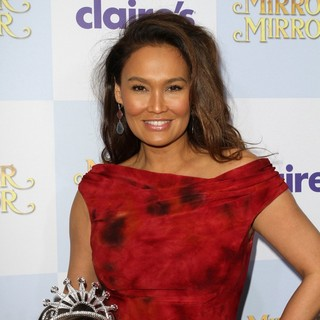 Tia Carrere in Relativity Media Presents The Los Angeles Premiere of Mirror Mirror - Arrivals