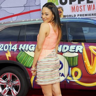 Tia Mowry in Los Angeles Premiere of Disney's Muppets Most Wanted - Red Carpet Arrivals