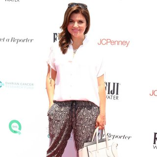 Tiffani-Amber Thiessen in Rachel Zoe and Molly Sims Host Ovarian Cancer Research Fund's Inaugural Super Saturday LA
