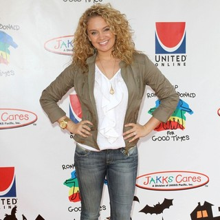 Tiffany Thornton in 18th Annual Camp Ronald McDonald for Good Times Halloween Carnival