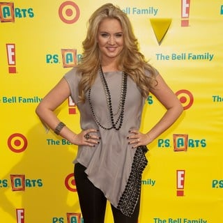 Tiffany Thornton in Arts Loving Families Gather at Express Yourself Barker Hangar
