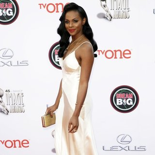 Tika Sumpter in 45th NAACP Image Awards - Arrivals