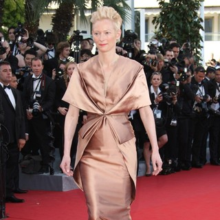Tilda Swinton in Moonrise Kingdom Premiere - During The Opening Ceremony of The 65th Cannes Film Festival