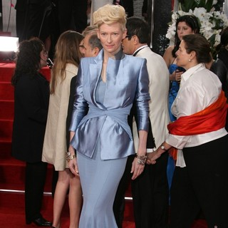 Tilda Swinton in The 69th Annual Golden Globe Awards - Arrivals