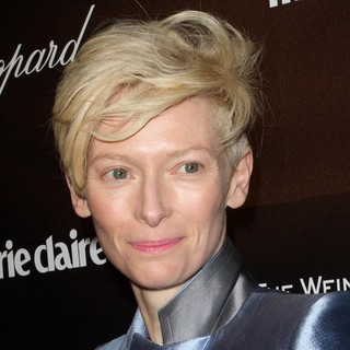 Tilda Swinton in The 69th Annual Golden Globe Awards The Weinstein Company After Party