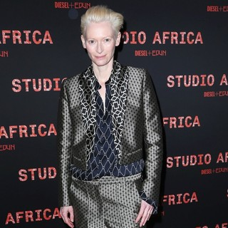 Tilda Swinton in Diesel+Edun's Launch Party for Studio Africa Live