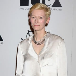 Tilda Swinton in Grand Opening of Pomellato Boutique Benefiting MOCA Hosted by Tilda Swinton - Arrivals