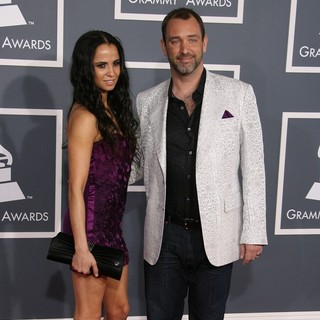 Boogie Tillmon, Trey Parker in 54th Annual GRAMMY Awards - Arrivals