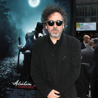 Tim Burton in The Premiere of Abraham Lincoln: Vampire Hunter