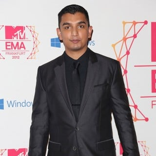 Tim Kash in The MTV EMA's 2012 - Arrivals