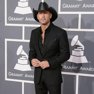 Tim McGraw in 55th Annual GRAMMY Awards - Arrivals