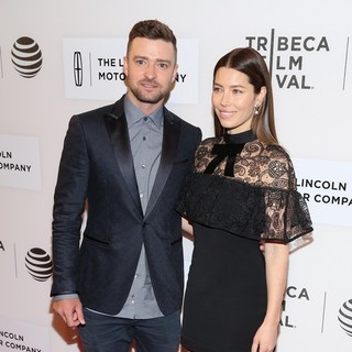 Justin Timberlake, Jessica Biel in 2016 Tribeca Film Festival - The Devil and the Deep Blue Sea Premiere
