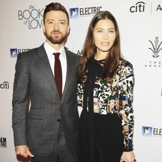 Justin Timberlake, Jessica Biel in Los Angeles Premiere of The Book of Love - Arrivals