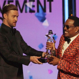 Justin Timberlake, Charlie Wilson in The 2013 BET Awards - Inside