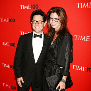 J.J. Abrams, Katie McGrath in 2010 TIME 100 Gala